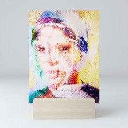 Distracted scatterbrain Mini Art Print