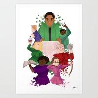 community Art Prints featuring Community by Twylluan