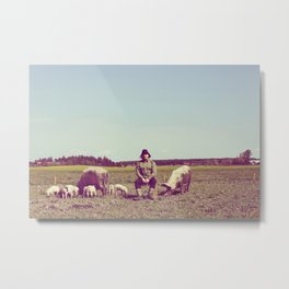 J Crist - Everything Stays Here and Now Metal Print