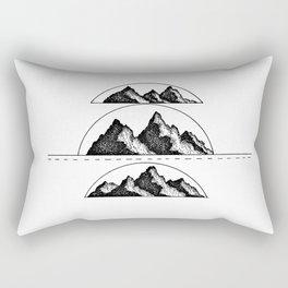 Mountain fresh air Rectangular Pillow