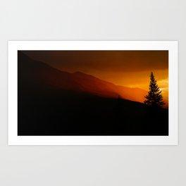 Evening Glow (Fine Art Landscape Photography) Art Print