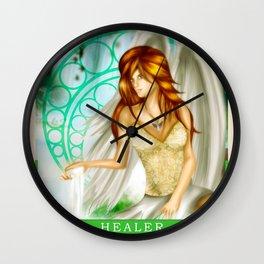 Wings Of Faith : Healer Wall Clock