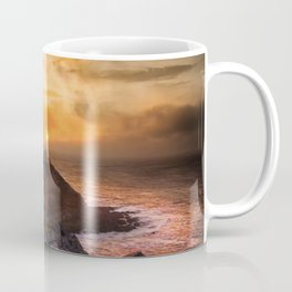Sunrise at Mumbles lighthouse Coffee Mug