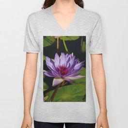 Purple Beauty Unisex V-Neck