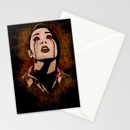 Even Vampires Get a Little Weepy... Stationery Cards