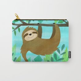 Cute Sloth Carry-All Pouch