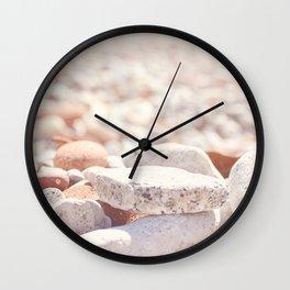 AFE Beach Rocks, Beach Photography Wall Clock