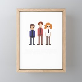 Meant To Be Tight Family oriented person Gift Framed Mini Art Print