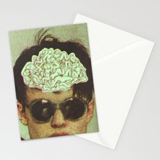 the human brain Stationery Cards