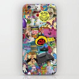 90s Favorites iPhone Skin