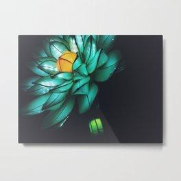 Light Flower Metal Print