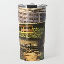 China Basin & Blanche's Restaurant San Francisco 1982 Travel Mug