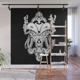 Sigil of the Wolf Captain Wall Mural