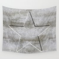 solid Wall Tapestries featuring Solid Star by LebensART