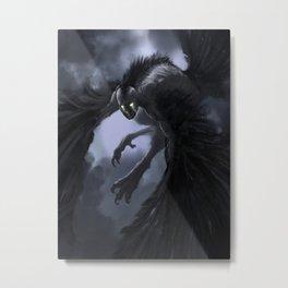 harpie-blue Metal Print