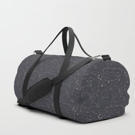 Rubber pup Tessellation Duffle Bag