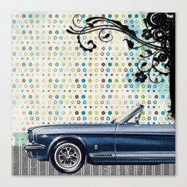 car & pattern Canvas Print