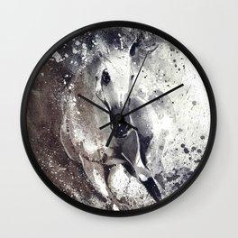 Arabian Stallion Wall Clock