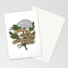 Handmaid's Tale - NOLITE TE BASTARDES CARBORUNDORUM (color) Stationery Cards