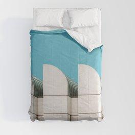 Berlin minimalist architecture Comforters