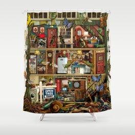 Bug House Shower Curtain