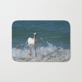 Florida White Ibis Bath Mat
