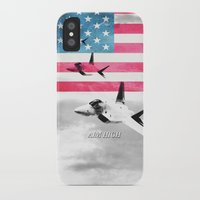 patriots iPhone & iPod Cases featuring United States Air Force(USAF) by MachoGifts