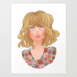 Alyssa from TEOTFW Art Print