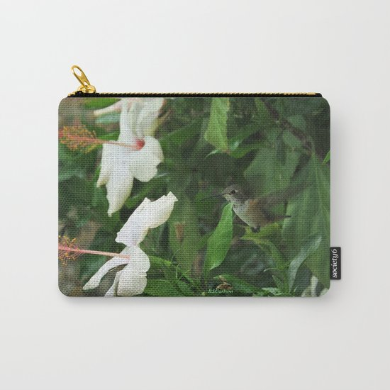 Lady Lurking in the Shade Carry-All Pouch