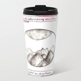The Moon Song Metal Travel Mug