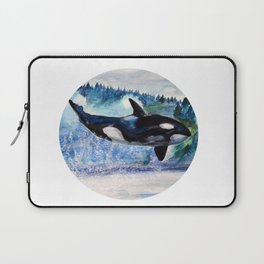 Whale of Freedom Laptop Sleeve