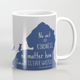 Lion and the Mouse - No Act of Kindness is ever Wasted Coffee Mug