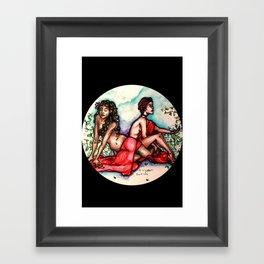 Rose Rising Framed Art Print