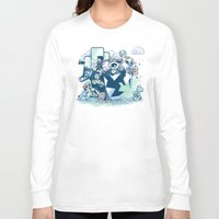 katamari Long Sleeve T-shirts featuring Katamario by TEEvsTEE
