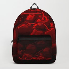 cherries pattern reaclidr Backpack