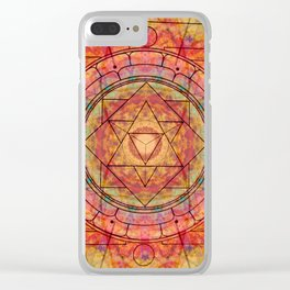 Union Clear iPhone Case