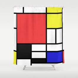 Mondrian Shower Curtain