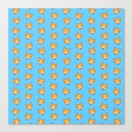 Corgi Puppies! Canvas Print