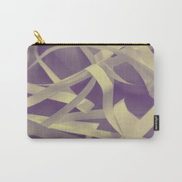 Purple paper Carry-All Pouch