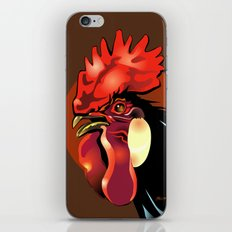 Andalusian Rooster 1 iPhone Skin