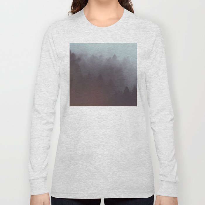 Watercolor Fog Long Sleeve T-shirt