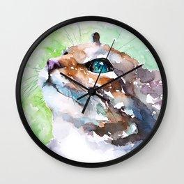 cat#22 Wall Clock