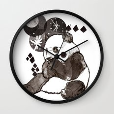 European Panda Wall Clock