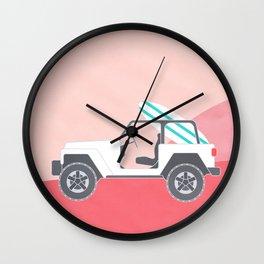 SAFARI BEACH Wall Clock