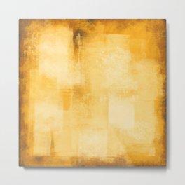 Rustic Yellow #17 Metal Print