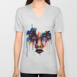 Splash of emotion Unisex V-Neck