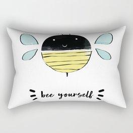 bee yourself Rectangular Pillow