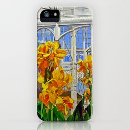 Victorian Greenhouse iPhone Case