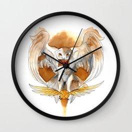 Potter Hedwig Owl Wall Clock