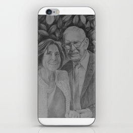 Wedding couple iPhone Skin
